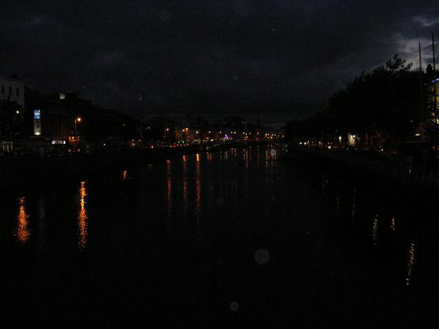Liffey at Night